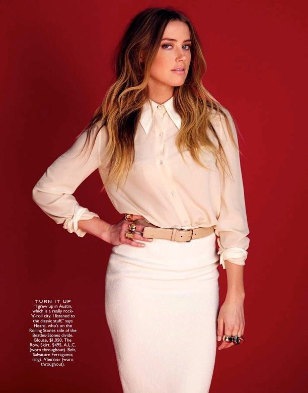 Amber Heard | Flare Magazine