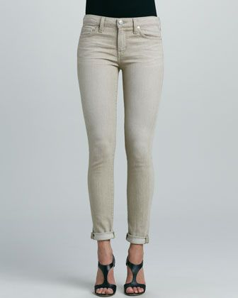 A.N.D. Denim  150 Wears Rolled Skinny Jeans