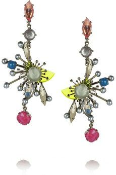 Erickson Beamon Erickson Beamon Nexus Swarovski Crystal Earrings