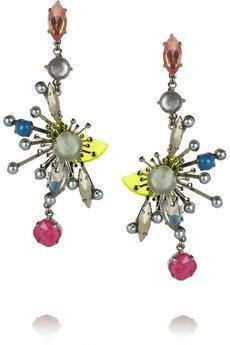 Erickson Beamon Erickson Beamon Nexus Swarovski Crystal Earrings