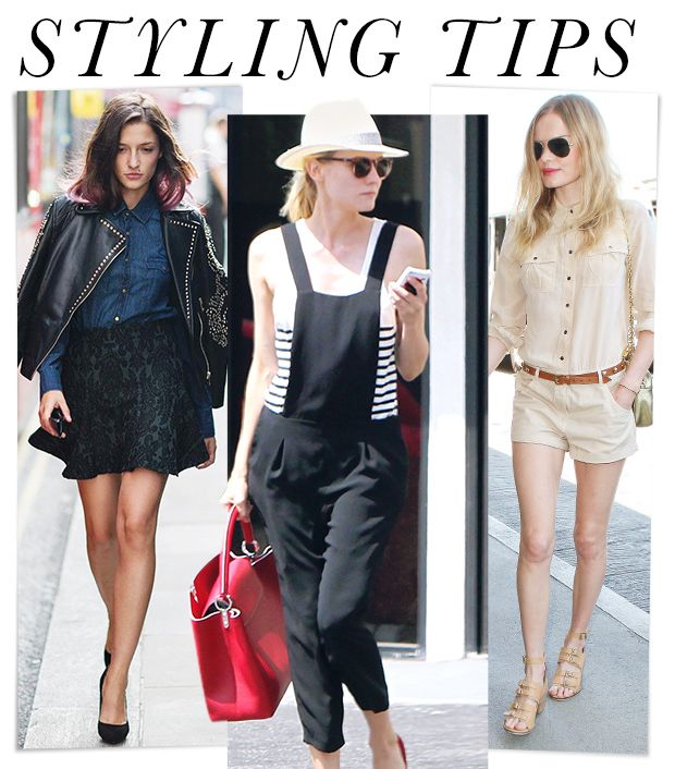 Easy Outfit Ideas From Diane Kruger, Kate Bosworth, & More!