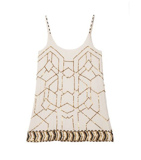 Love Sam Beaded Tank Dress
