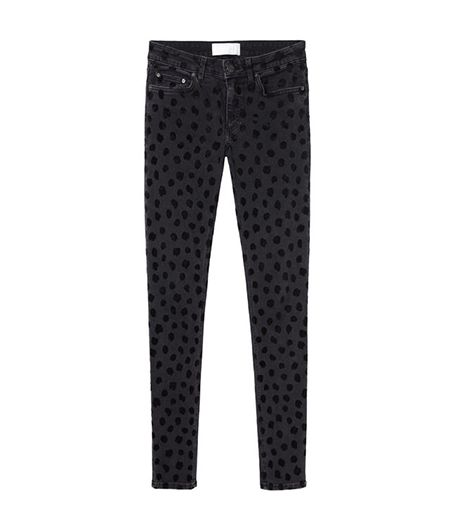 Acne Studios Skin 5 Black Lynx Jeans