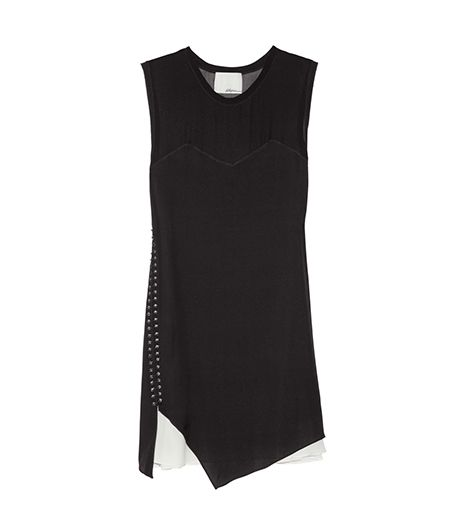 3.1 Phillip Lim Stretch-Silk Mini Dress