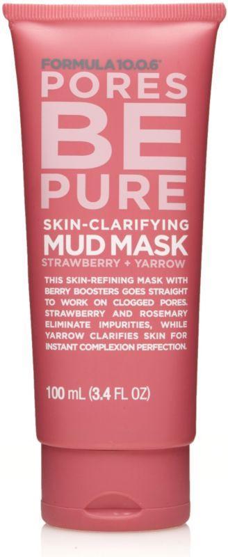 Formula 10.0.6  Pores Be Pure Mud Mask
