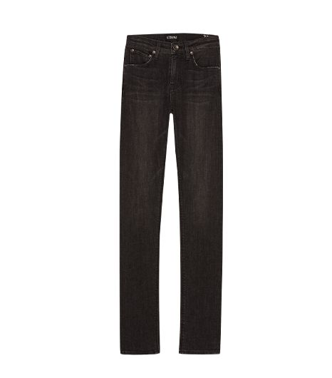 STROM  Nio High Rise Jeans in Blackbird