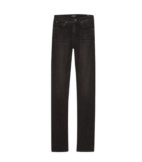STROM  Nio High Rise Jeans in Blackbird