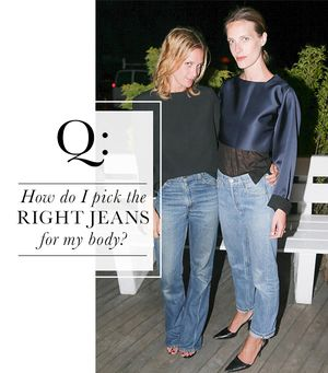 How do I pick the right jeans for my body?