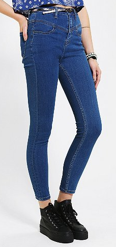BDG  High-Rise Seamed Jeans