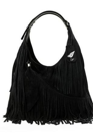 Diane von Furstenberg Diane von Furstenberg Franco Fringe Leather Bag