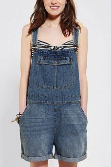 BDG  Denim Overall Short