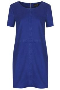 Topshop  Seam Denim Tee Dress