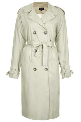 Topshop  Soft Trench Coat