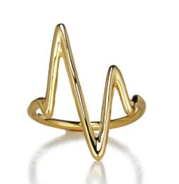 Sarah Chloe Sarah Chloe Large Heart.Beat Ring