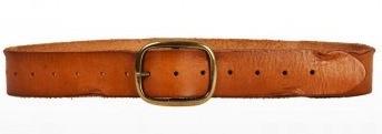 Linea Pelle Linea Pelle Vintage Perforated Hip Belt