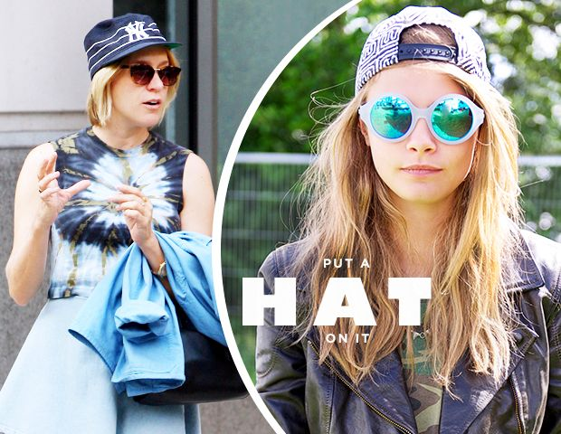 All the Cool Kids Are Doing It: Cara Delevingne, Chloe Sevigny, & More Get Sporty