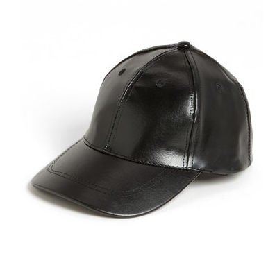 BP Faux Leather Baseball Cap