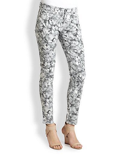 Michael Michael Kors  Wildflower Skinny Jeans