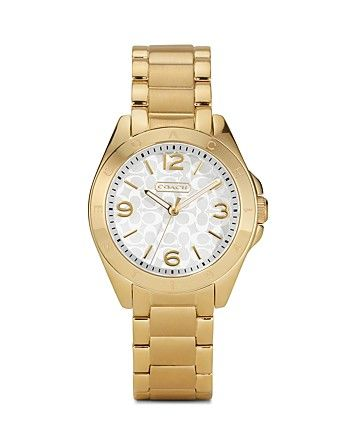 Coach  Tristen Watch with Logo Dial