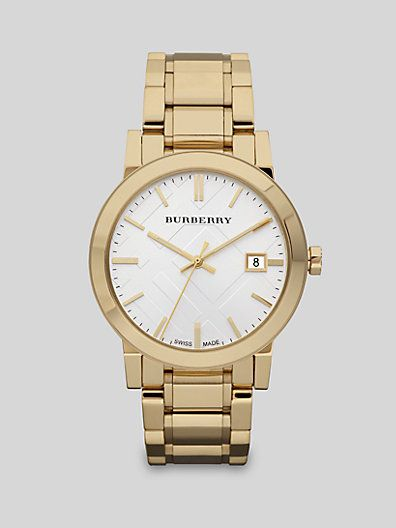 Burberry  Classic Stainless Steel Watch