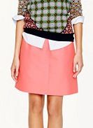 J.Crew Collection J.Crew Collection Wool-Silk A-Line Skirt