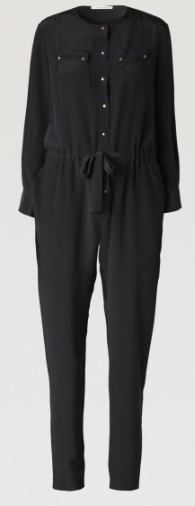 Gerard Darel  Silk Jumpsuit
