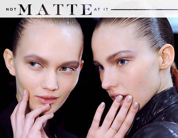 Nail Polish Goes Matte for Fall