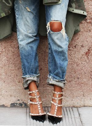 How To Cuff Your Jeans Like A Pro Who What Wear