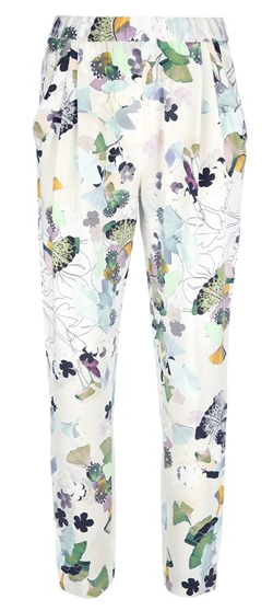 3.1 Phillip Lim  Printed Tapered Trousers