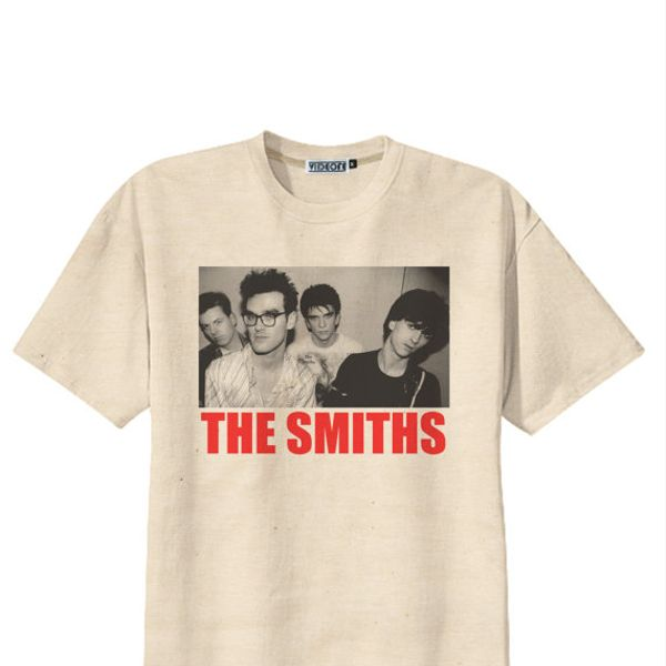 Videofe  Retro The Smiths Punk Rock T-Shirt Tee