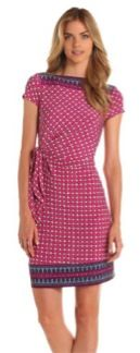 Donna Morgan  Mock Wrap Dress