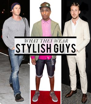 Let's Hear It For The Boys! The Stylish Guys We Love