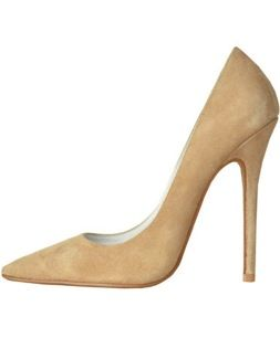 Jeffrey Campbell Jeffrey Campbell Nude Suede Darling Pumps