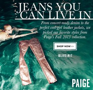 Embrace Life's Adventurous Moments in Paige Denim's Fall Collection