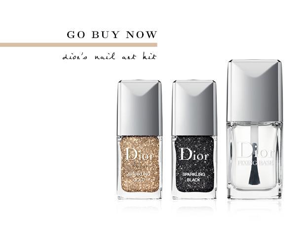 Nail Art: Dior Style