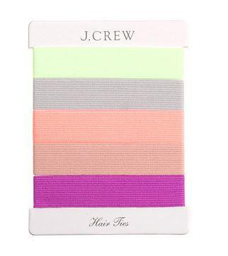 J.Crew  Elastic Hair Tie Pack