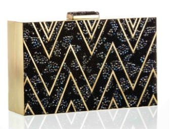 Emma Kuo Emma Kuo Chevron Box Clutch