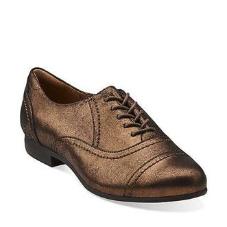 Clarks  Clarks Charlie Cap-Toe Oxfords
