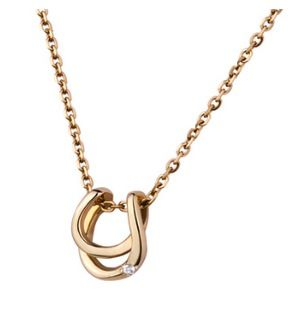 JLANI  JLANI Horseshoe Necklace