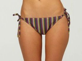Roxy Roxy Brazilian String Bikini Bottoms