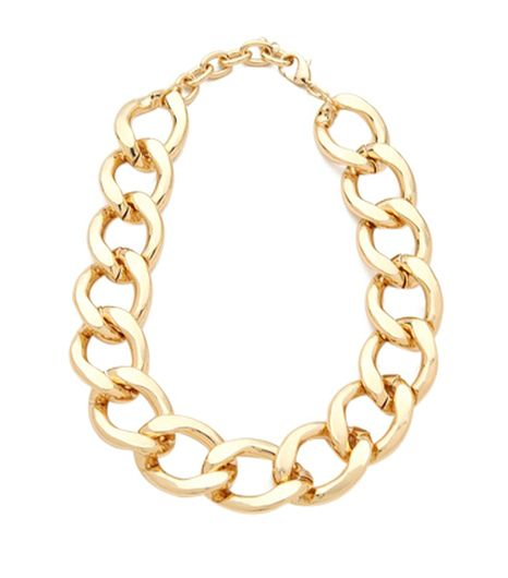 Adia Kibur  Chain Link Necklace