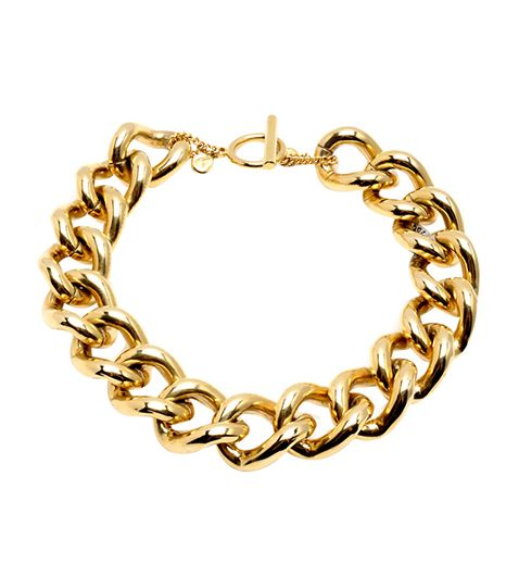 Ben Amun Gold Chain Link Necklace