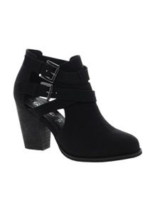 New Look New Look Chilly Cut Out Ankle Boots