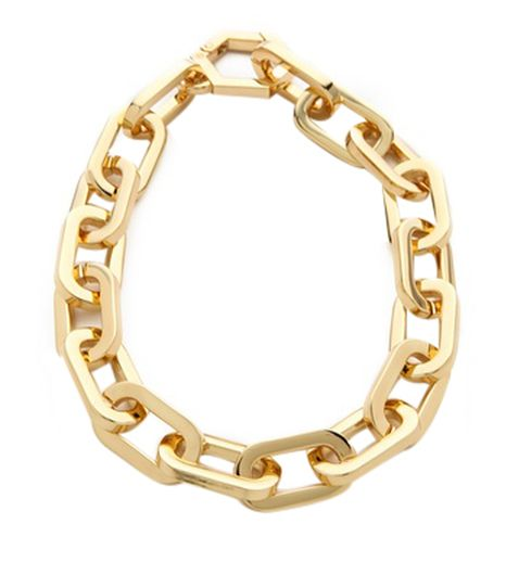 Eddie Borgo Supra Link Necklace