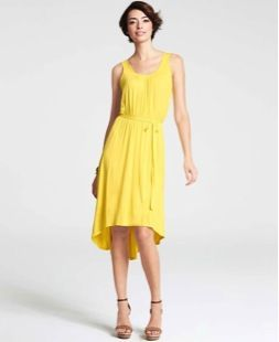 Ann Taylor  High Low Hem Tank Dress