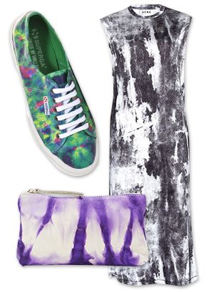 Less Hippie, More Chic: The Season's Best Tie-Dye Pieces