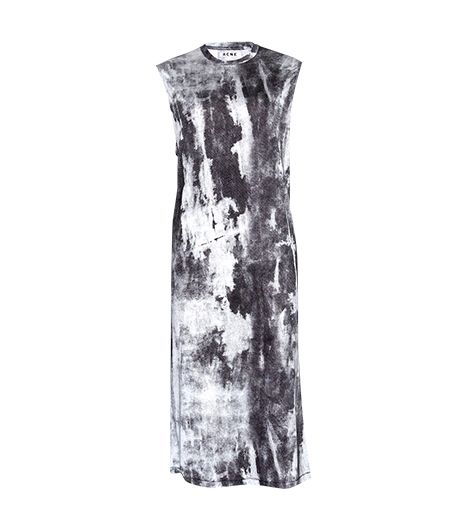 Acne  Zula Acid Printed Jersey Dress