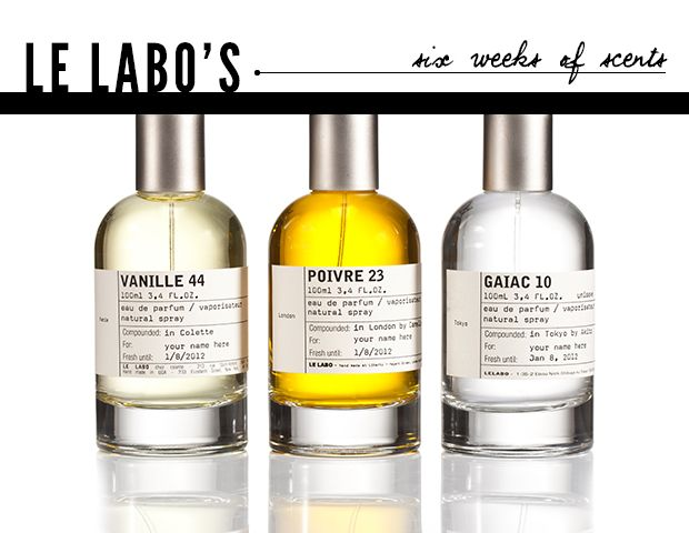 Le Labo's Six Weeks of Scents
