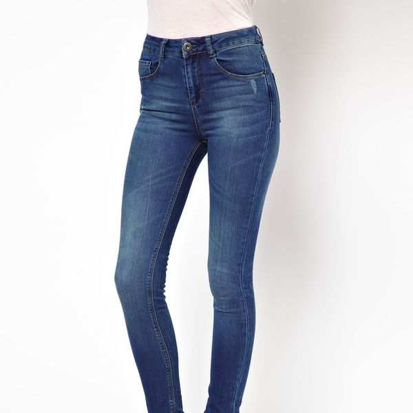 ASOS  Ridley Supersoft High Waisted Ultra Skinny Jeans