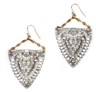 Lulu Frost  Deco Earrings